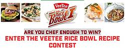 Veetee Rice Are You Chef Enough to Win Contest
