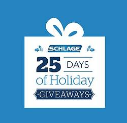 Schlage 25 Days of Holiday Giveaways