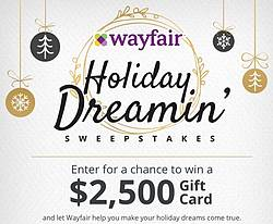 HGTV Wayfair's Holiday Dreamin Giveaway