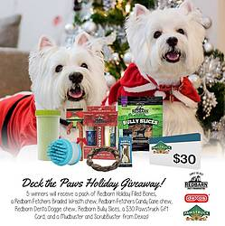 Red Barn Inc Deck the Halls Holiday Pet Giveaway