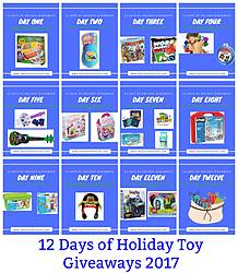 Charlene Chronicles: 2017 Holiday Toy Guide Giveaway