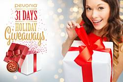 Pevonia 31 Days of Giveaways