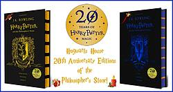 Pausitive Living: Hogwarts House 20th Anniversary Editions of the Philosopher's Stone Giveaway