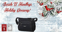 Pausitive Living: Beside-U Handbag Holiday Giveaway