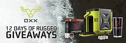 OXX Beyond Rugged 12 Day Rugged Giveaway