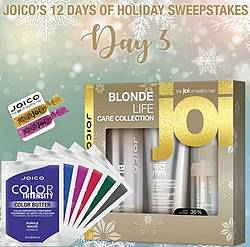 Joico 12 Days of Holiday Sweepstakes