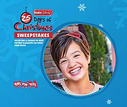 Radio Disney 25 Days of Christmas Sweepstakes