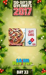 SAHM Reviews: Day 33 - $25 Domino's E-Gift Card Giveaway
