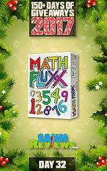 SAHM Reviews: Day 32 - Math Fluxx Game Giveaway