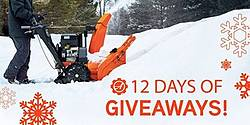 Ariens 12 Days of Giveaways