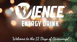 Xyience Energy Drink's 12 Days of Giveaways