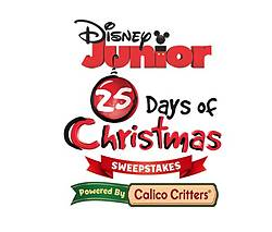 Disney Junior's 25 Days of Christmas Sweepstakes