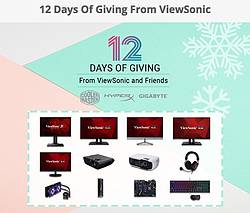 ViewSonic 12 Days of Giving Sweepstakes