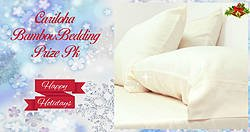 Pausitive Living: Cariloha Holiday Bedding Prize Pack Giveaway