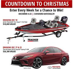 Bass Pro Shops Countdown to Christmas Sweepstakes