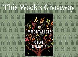 Read It Forward the Immortalists Book Giveaway