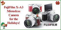 Pausitive Living: Fujifilm X-A3 Mirrorless Camera Giveaway