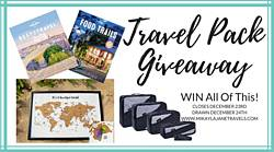 Mikaylajanetravels: Travel Pack December Giveaway