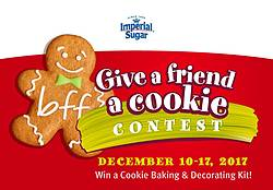 Imperial Sugar/Dixie Crystals Give a Friend a Cookie Giveaway