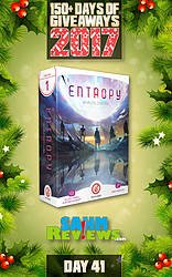 SAHM Reviews: 150+ Days of Giveaways - Day 41 - Entropy: Worlds Collide Game Giveaway