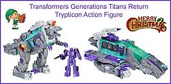 Pausitive Living: Transformers Generations Titans Return Trypticon Action Figure Giveaway