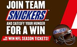 Snickers & Skittles: Super Bowl Lii Rivalry 2018 Sweepstakes and Instant Win Game