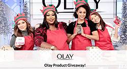 The Real Olay Product Giveaway