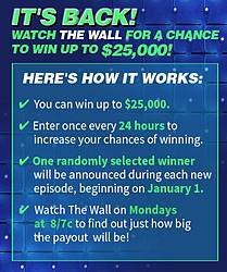 NBC's the Wall Win at Home Sweepstakes
