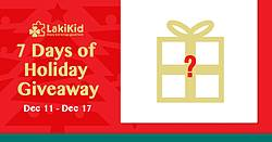 Akikid: 7 Days of Holiday Giveaway