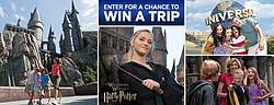 USA Network Christmas in the Wizarding World of Harry Potter Sweepstakes