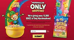 Lucky Charms Marshmallow Only Sweepstakes