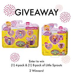 Woman of Many Roles: Cabbage Patch Kids – Little Sprout Giveaway