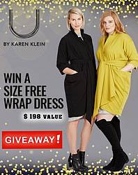 U by Karen Klein Wrap Dress Sweepstakes