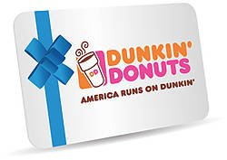 Gracefulcoffee: $5 Dunkin' Donuts E-Gift Card Giveaway