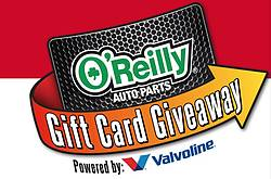 O'Reilly Automotive Stores Gift Card Instant Win Game