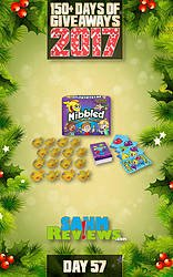 SAHM Reviews: Day 57 - Nibbled Game Giveaway