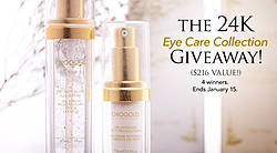 Orogold Cosmetics: 24K Eye Care Collection Giveaway