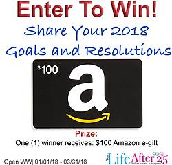 Your Life After 25: $100 Amazon Gift Card Giveaway