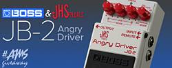 Boss/JHS Pedals Angry Driver Giveaway