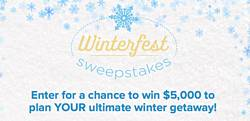 Hallmark Channel Winterfest Sweepstakes