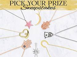 Pick Your Prize From James Free Jewelers