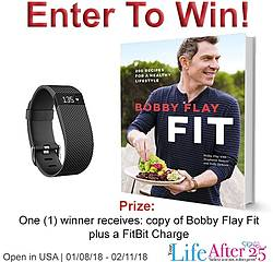 Your Life After 25: Win a FitBit Charge and Bobby Flay FIT Cookbook