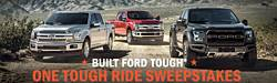 Built Ford Tough One Tough Ride Sweepstakes