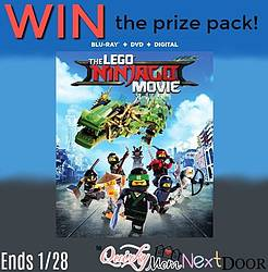 Quirky Mom Next Door: LEGO NINJAGO Movie Prize Pack Giveaway
