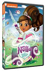 Making of a Mom: Nella the Princess Knight DVD Giveaway