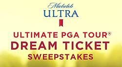 Michelob Ultra Ultimate PGA Tour Dream Ticket Sweepstakes and Instant Win