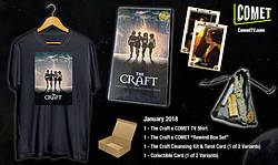 "Irish Film Critic: COMET TV ""The Craft"" Exclusive Swag Pack Giveaway"