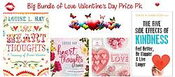 Pausitive Living: Big Bundle of Love Valentine's Day Book Prize Pack Giveaway