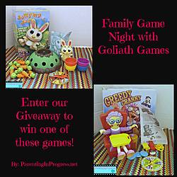 Parenting in Progress: Win 1 of 2 Games From Goliath