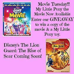Parenting in Progress: My Little Pony the Movie Prize Package Giveaway